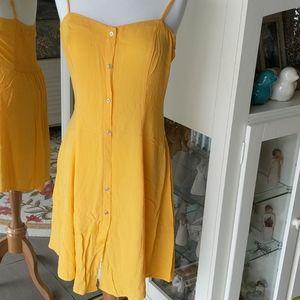Cotton On yellow dress